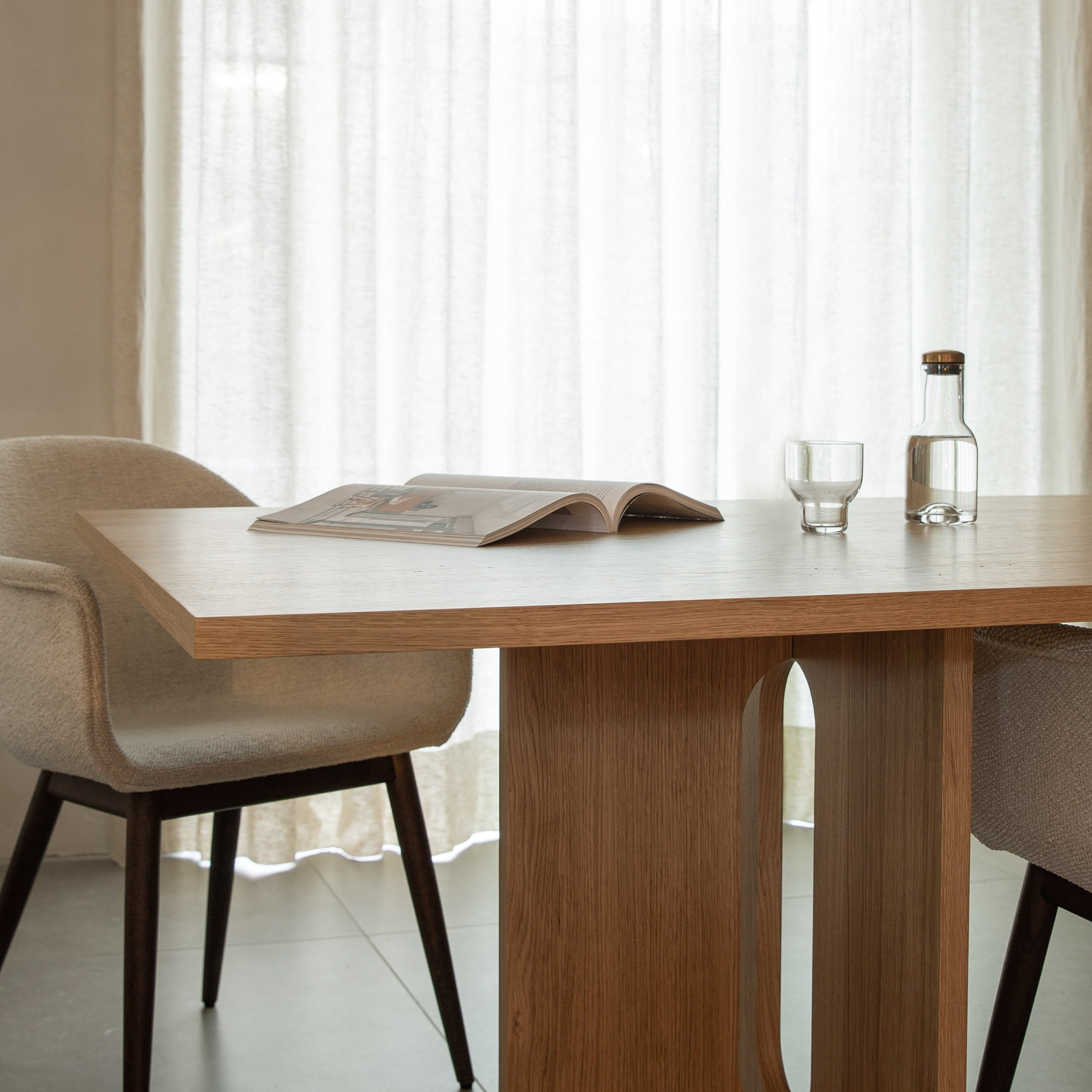 Androgyne Dining Table: Rectangular