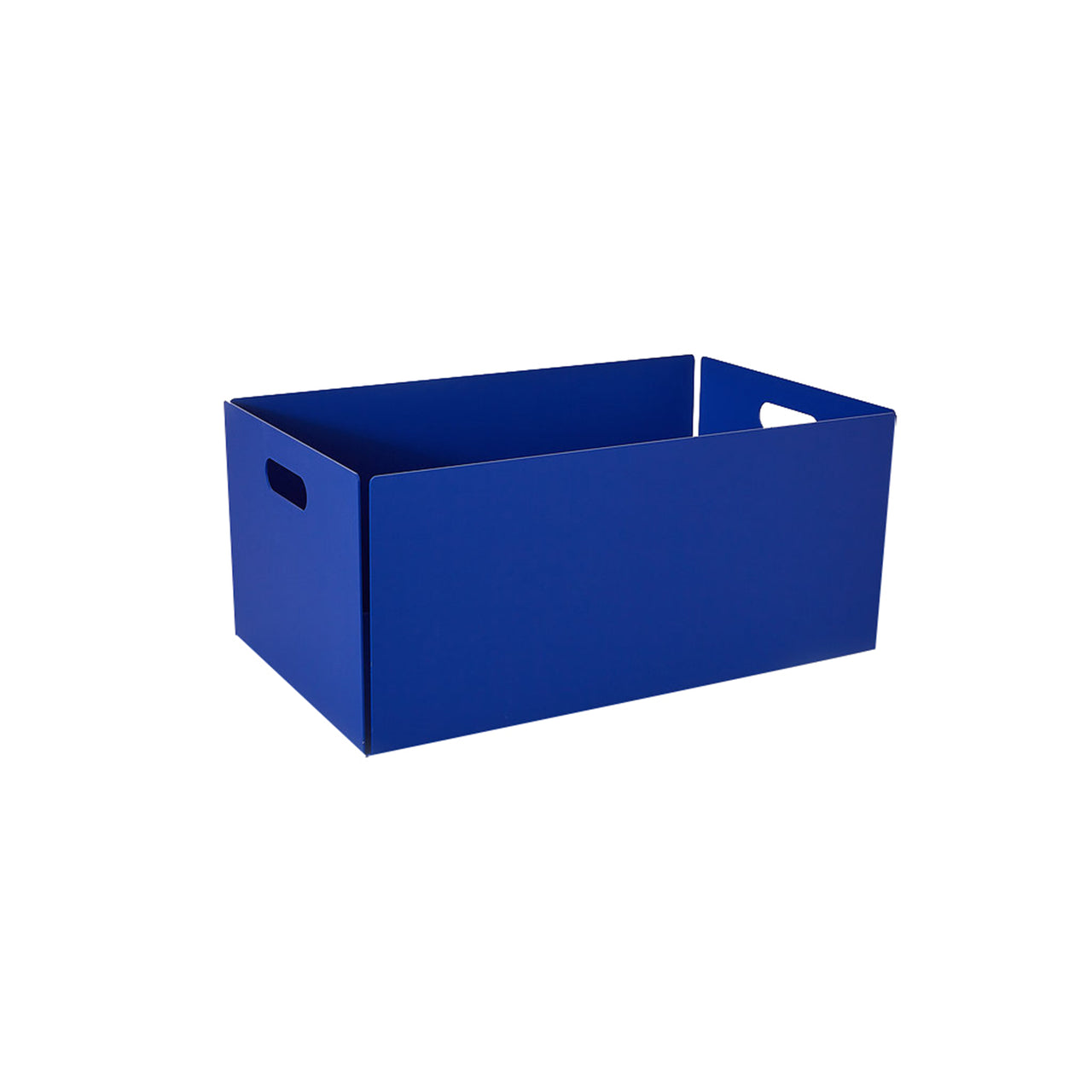 Metal Dowel Basket: Large + Ultramarine Blue
