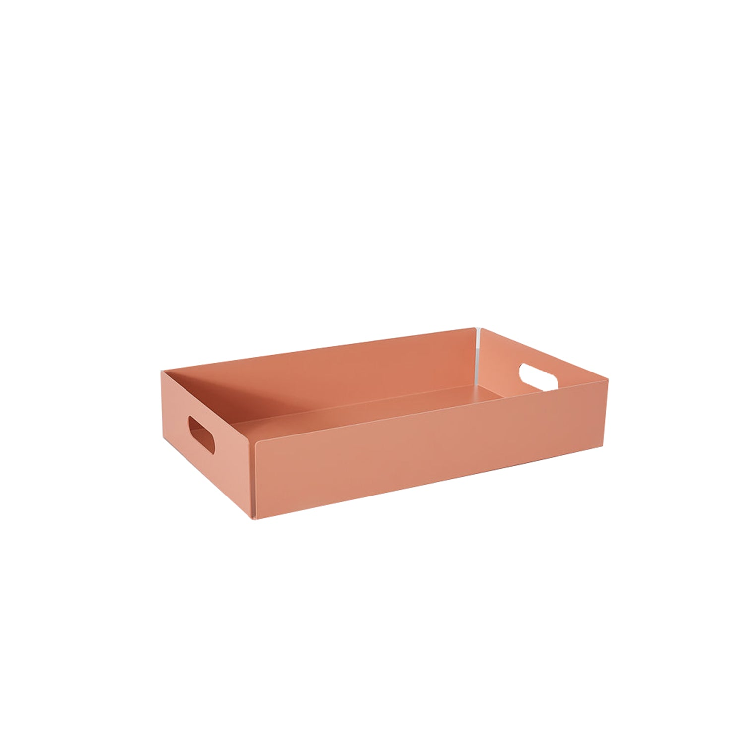 Metal Dowel Basket: Small + Beige Red