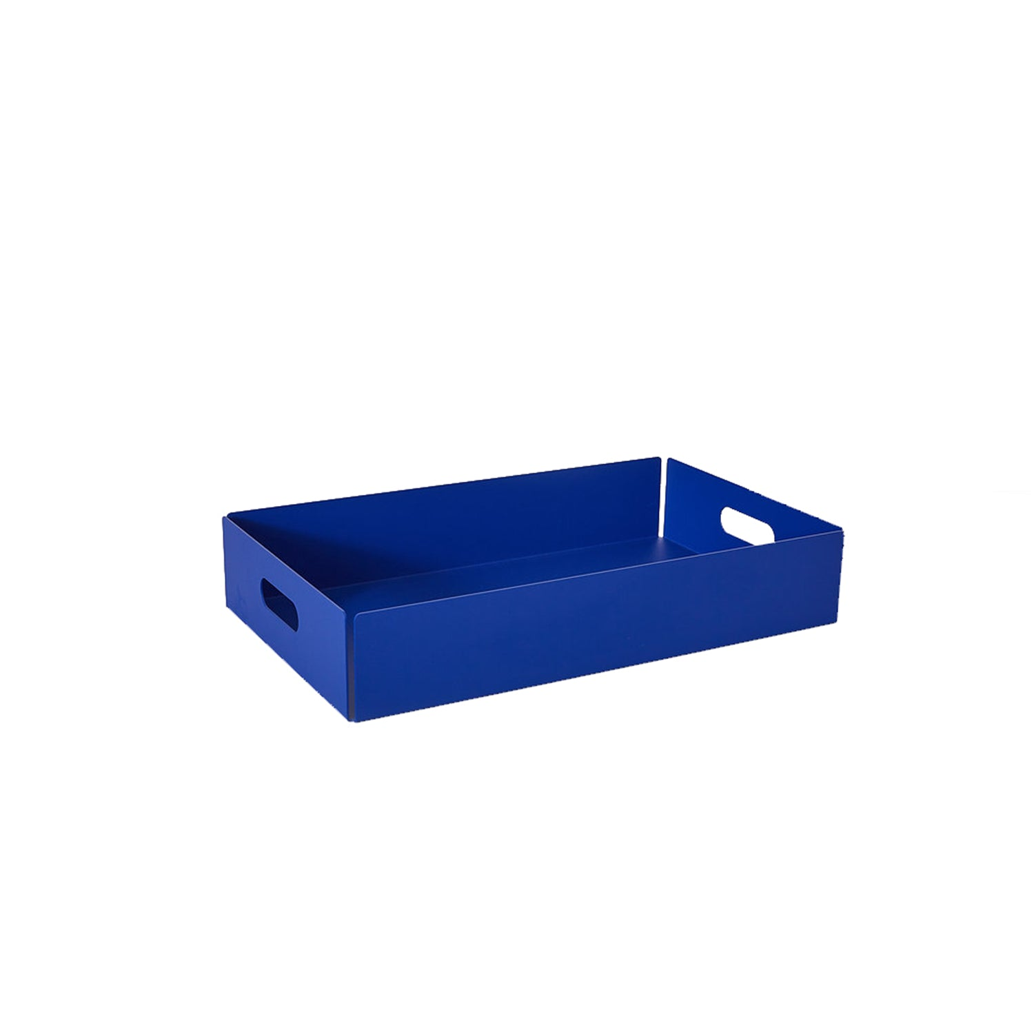 Metal Dowel Basket: Small + Ultramarine Blue