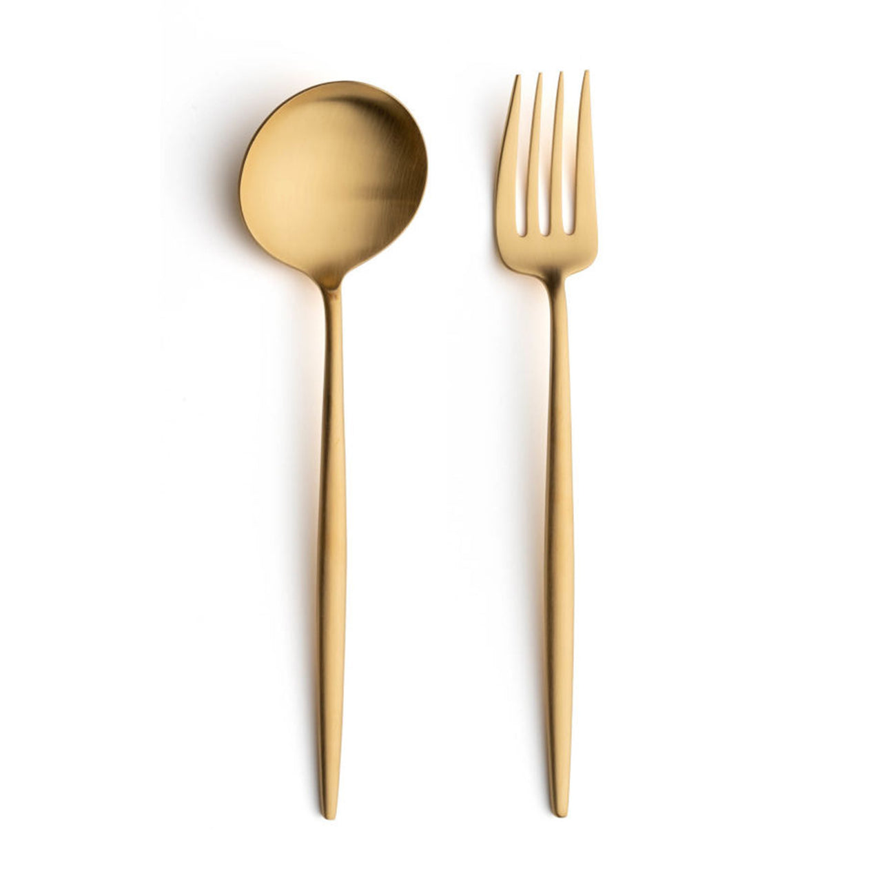 Moon Cutlery: Brushed Gold