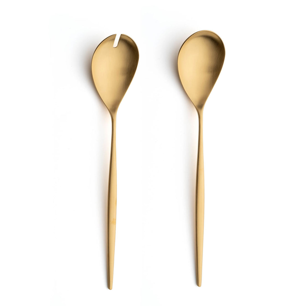 Moon Flatware: Brushed Gold: Salad Set