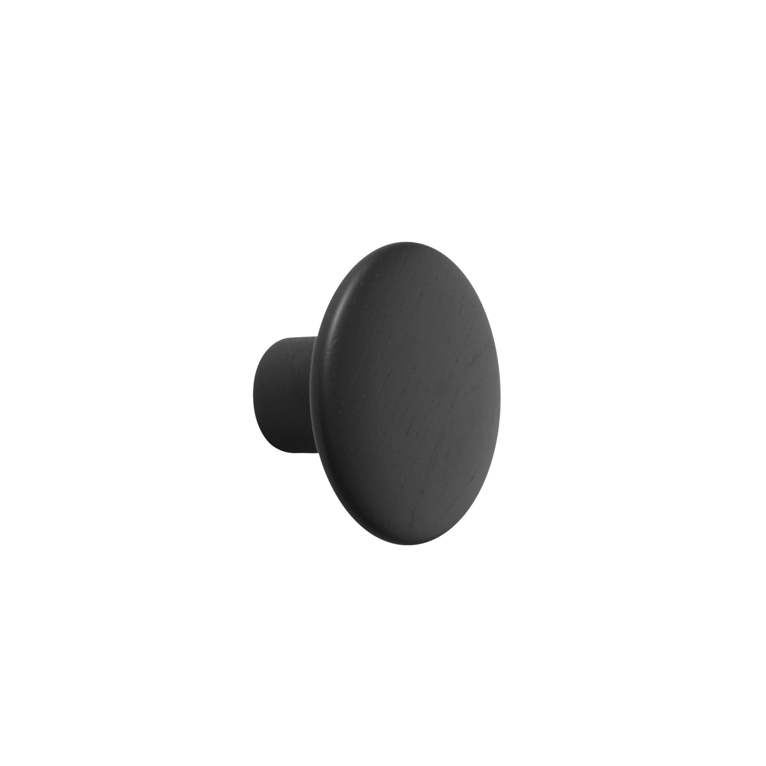 The Dots Wall Hooks: Black + Small