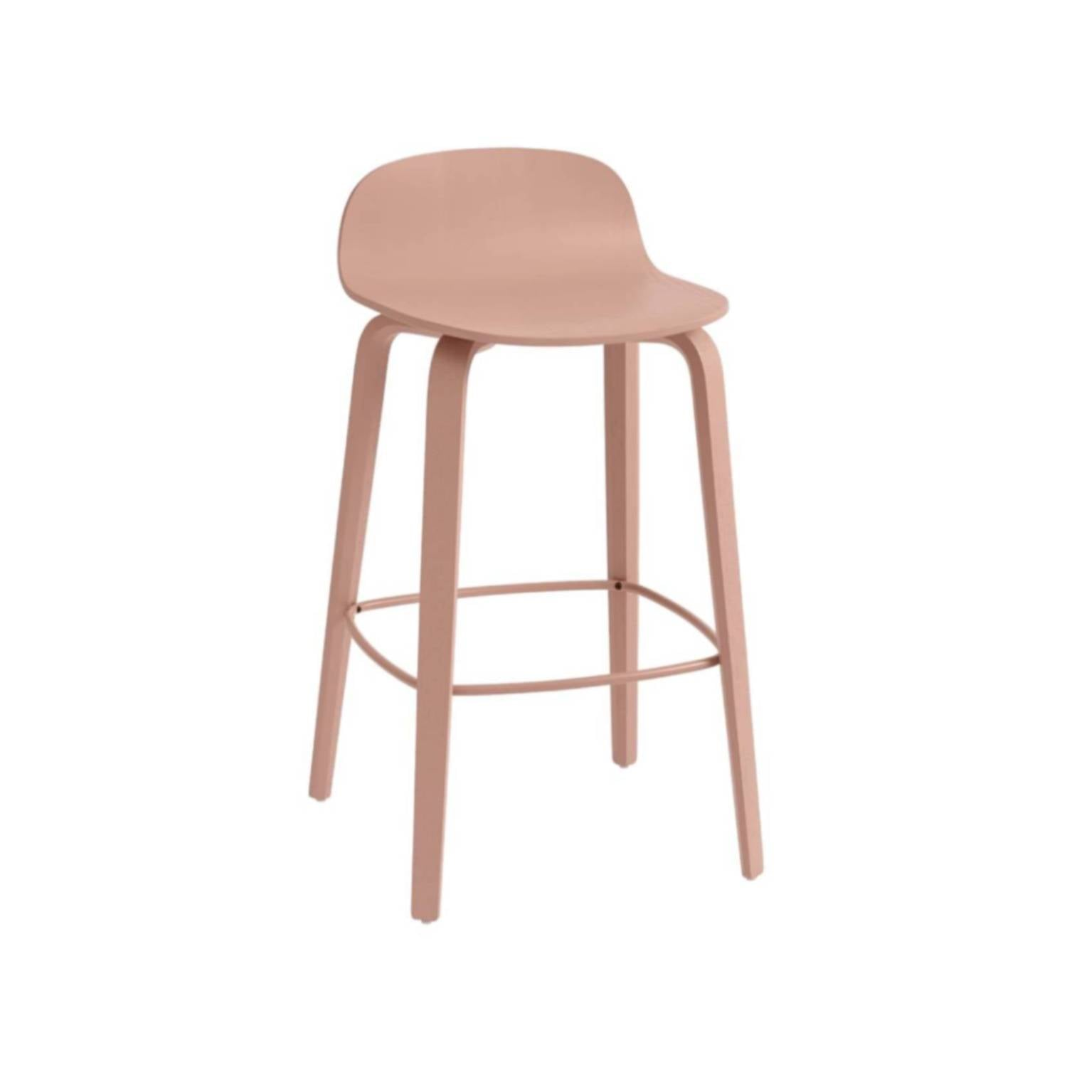 Visu Counter Stool: Tan Rose