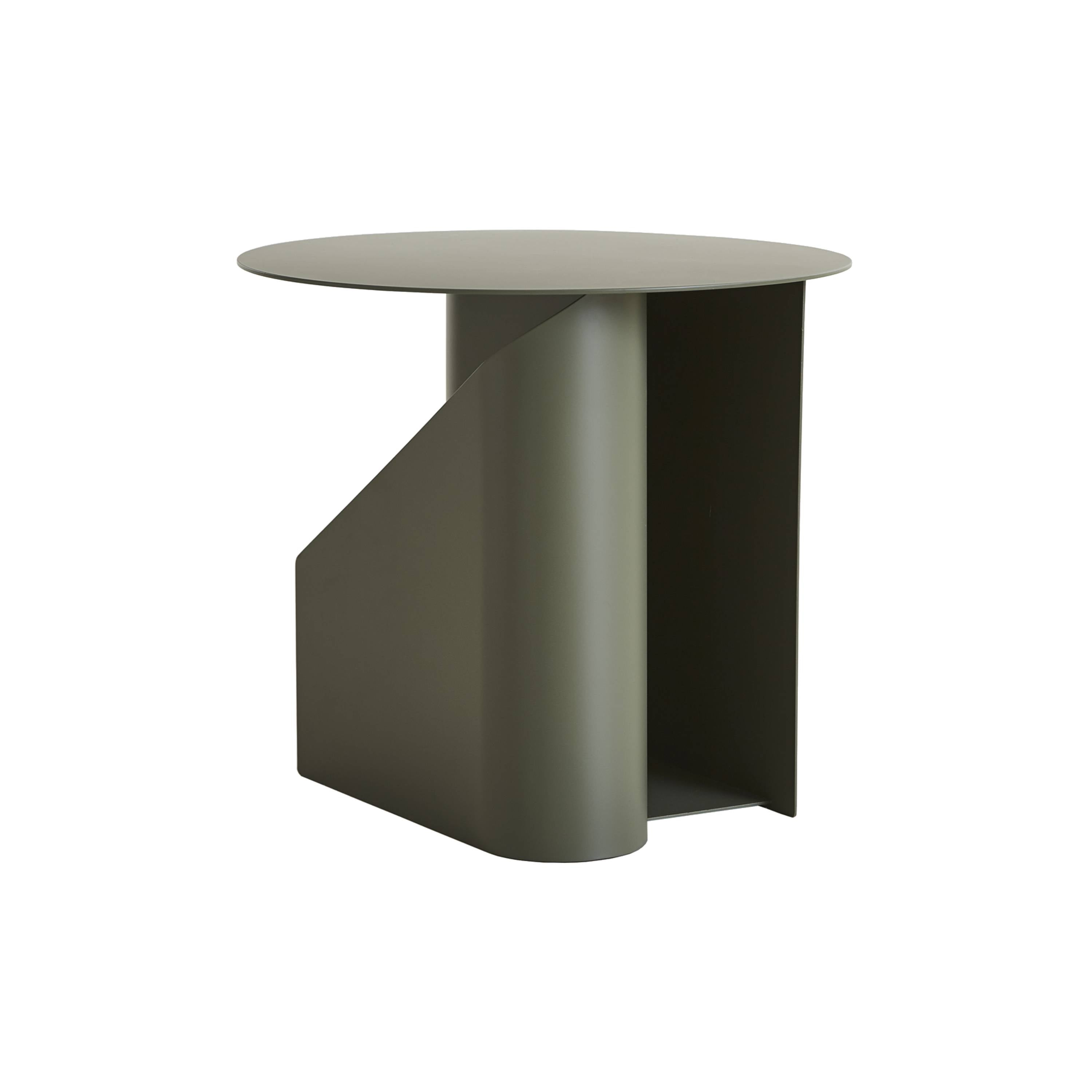 Sentrum Side Table: Dusty Green