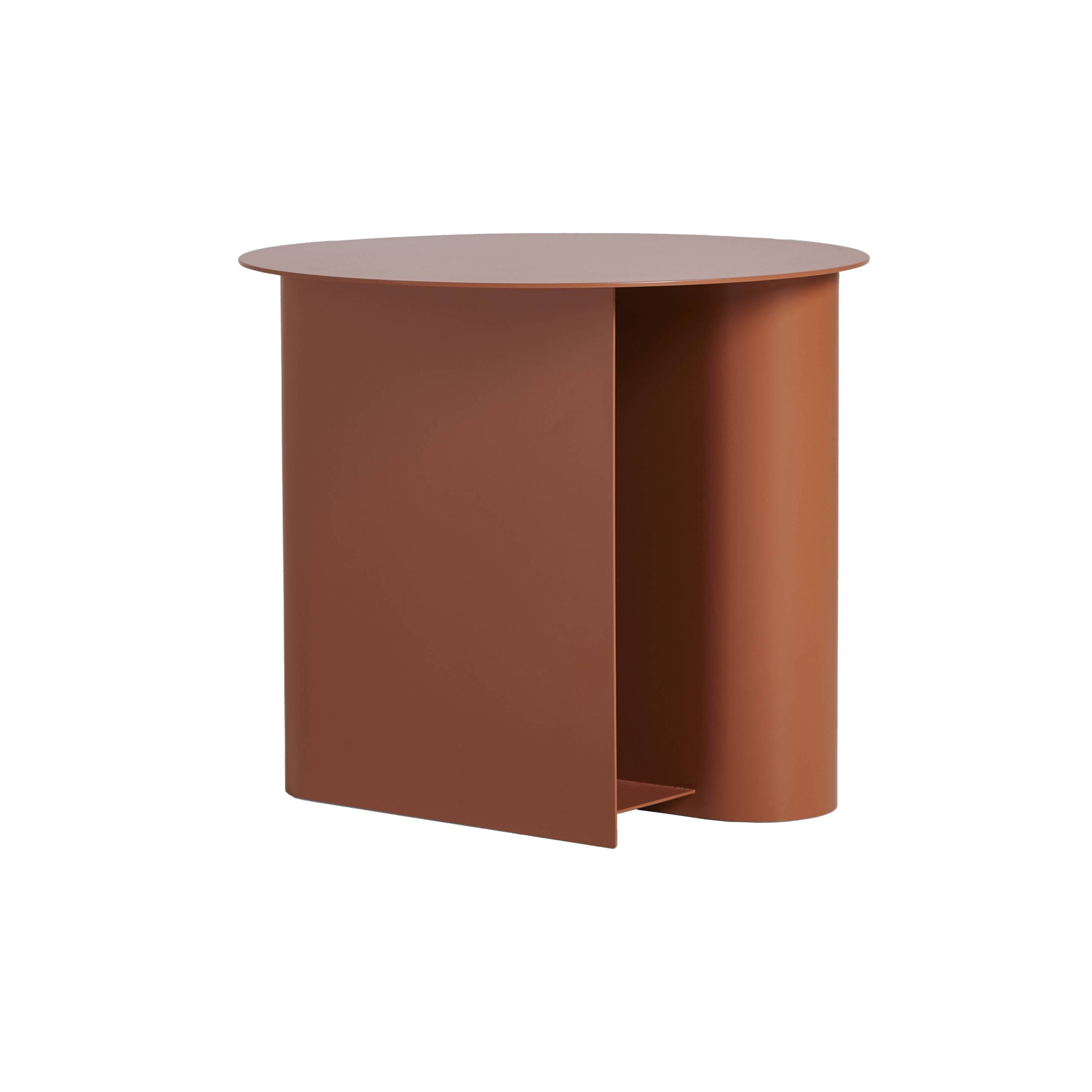 Sentrum Side Table: Burnt Orange