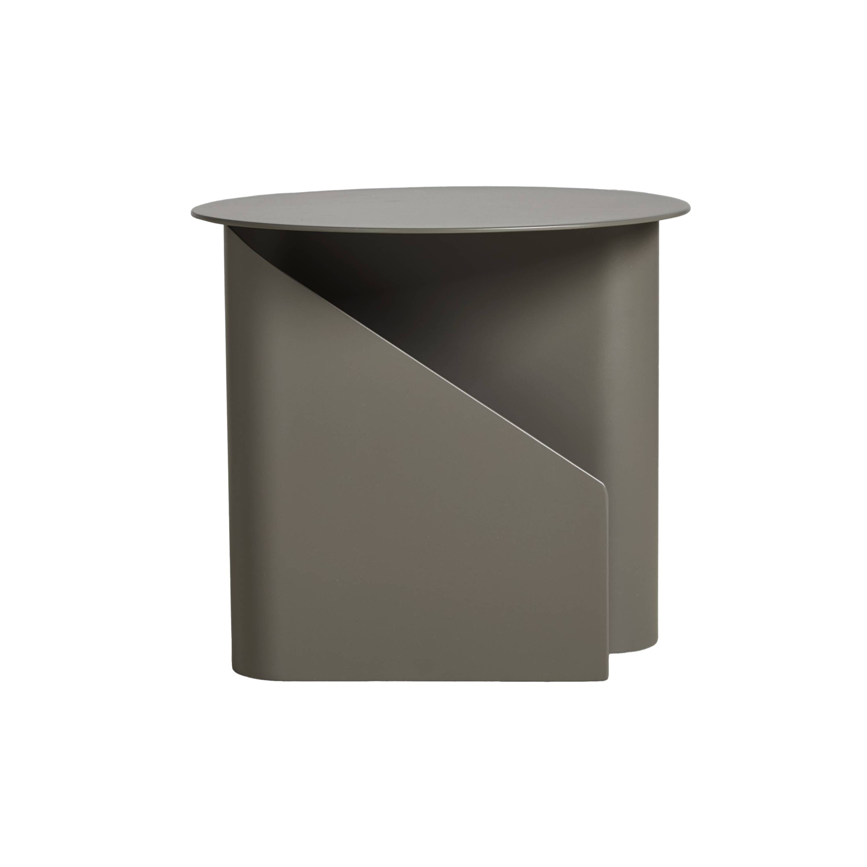 Sentrum Side Table: Taupe