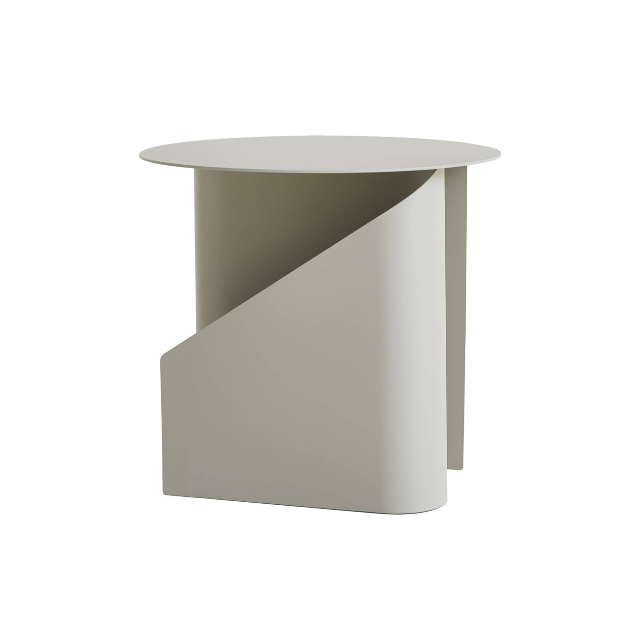 Sentrum Side Table: Warm Grey