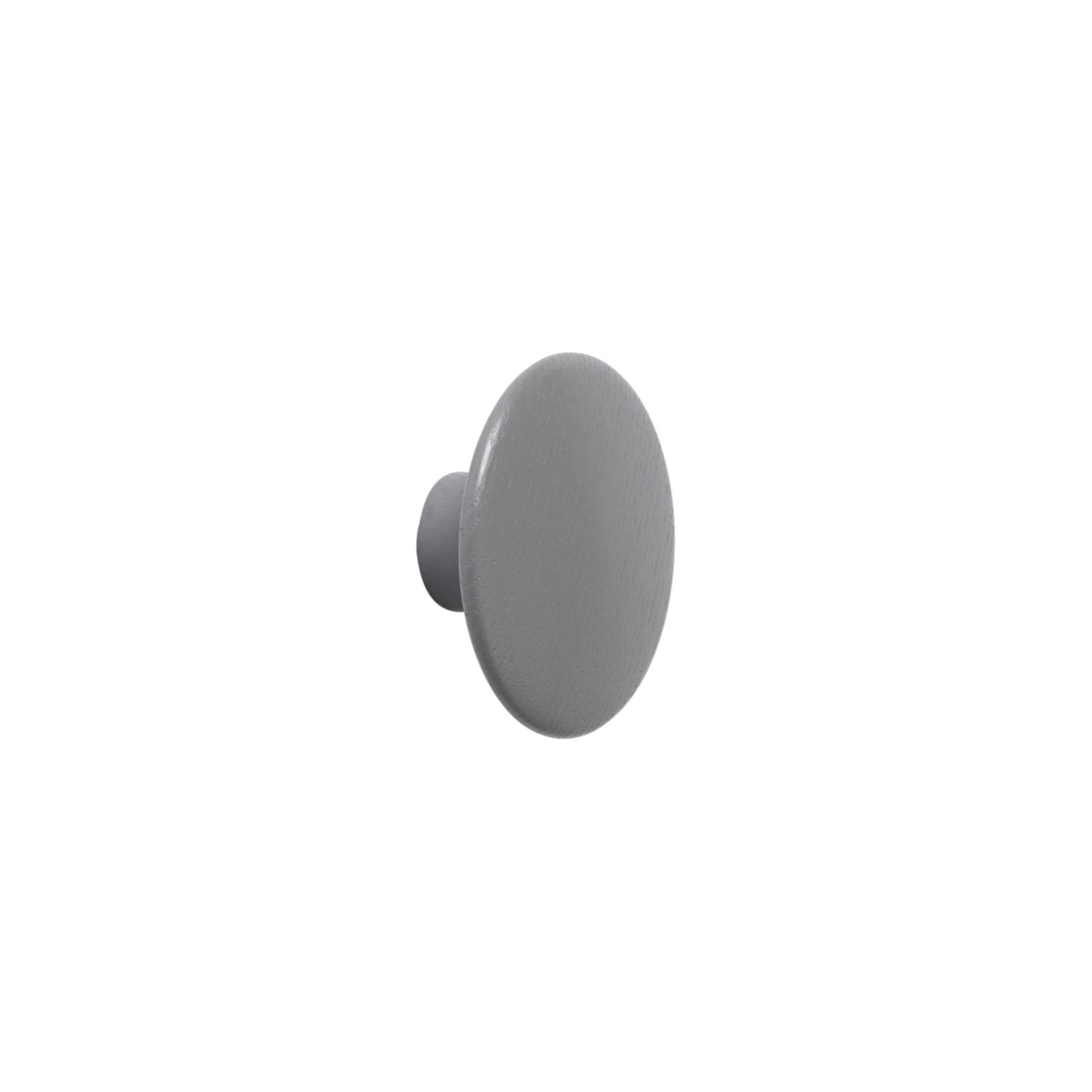 The Dots Wall Hooks: Dark Grey + Extra Small