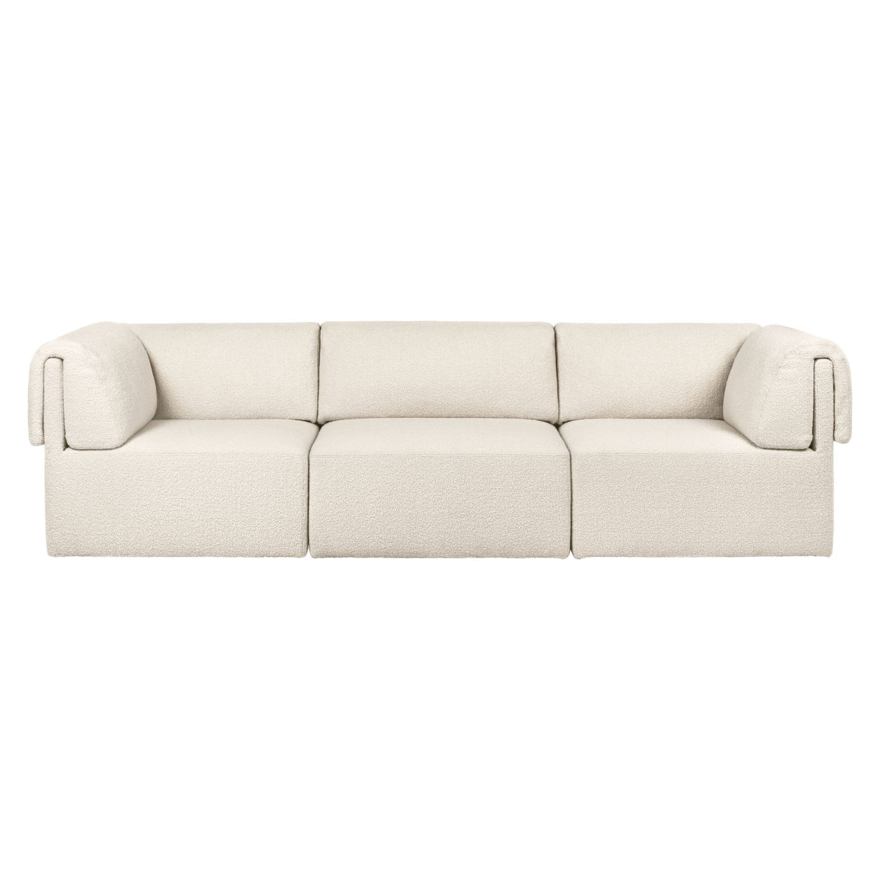 Wonder Sofa: 3 Seater with Armrest