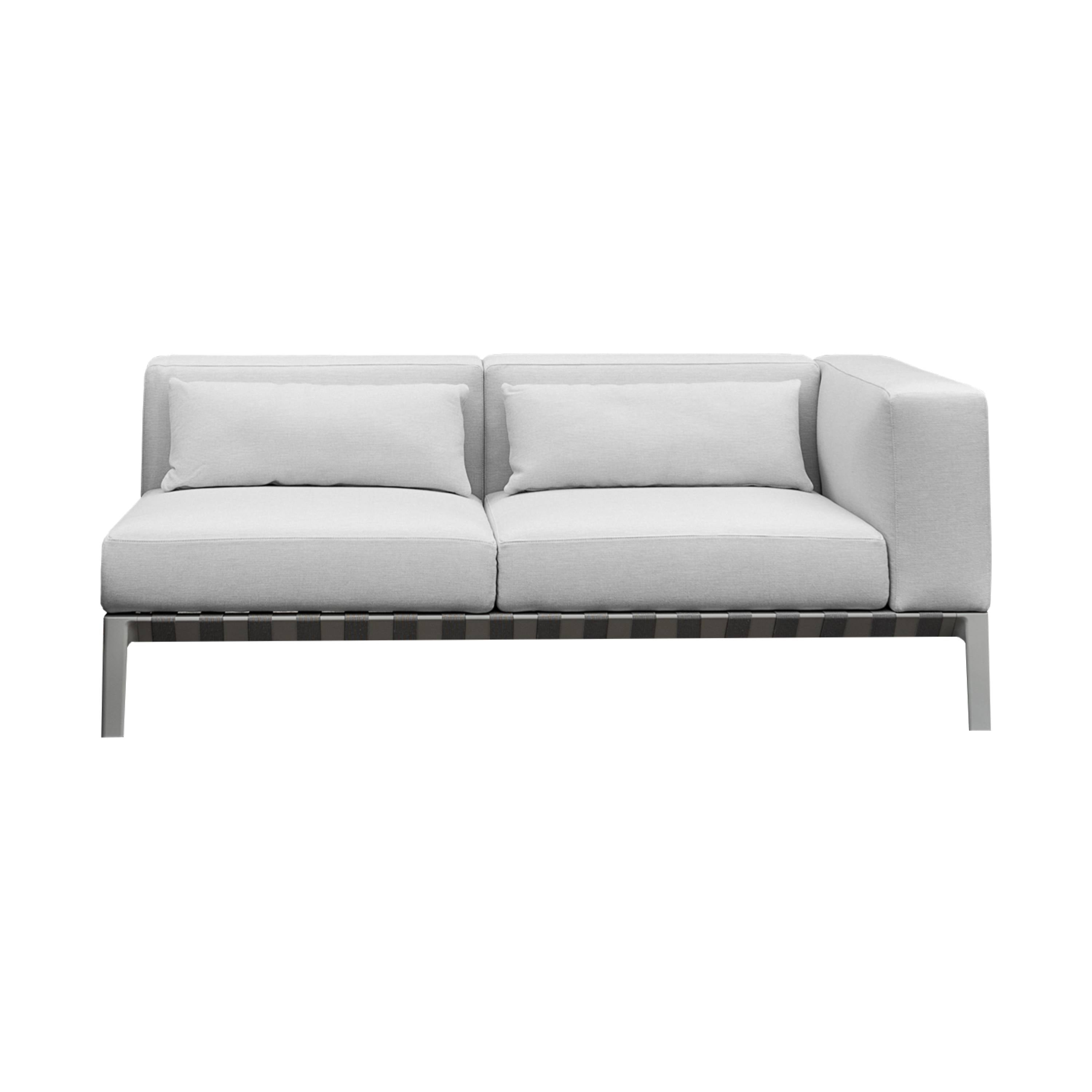 Outdoor Able Sofa with Right Arm