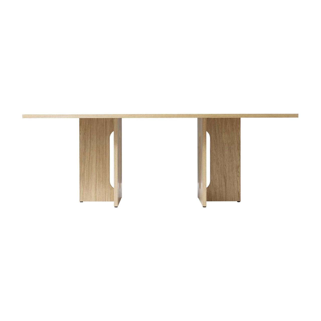 Androgyne Dining Table: Rectangular + Small - 82.7