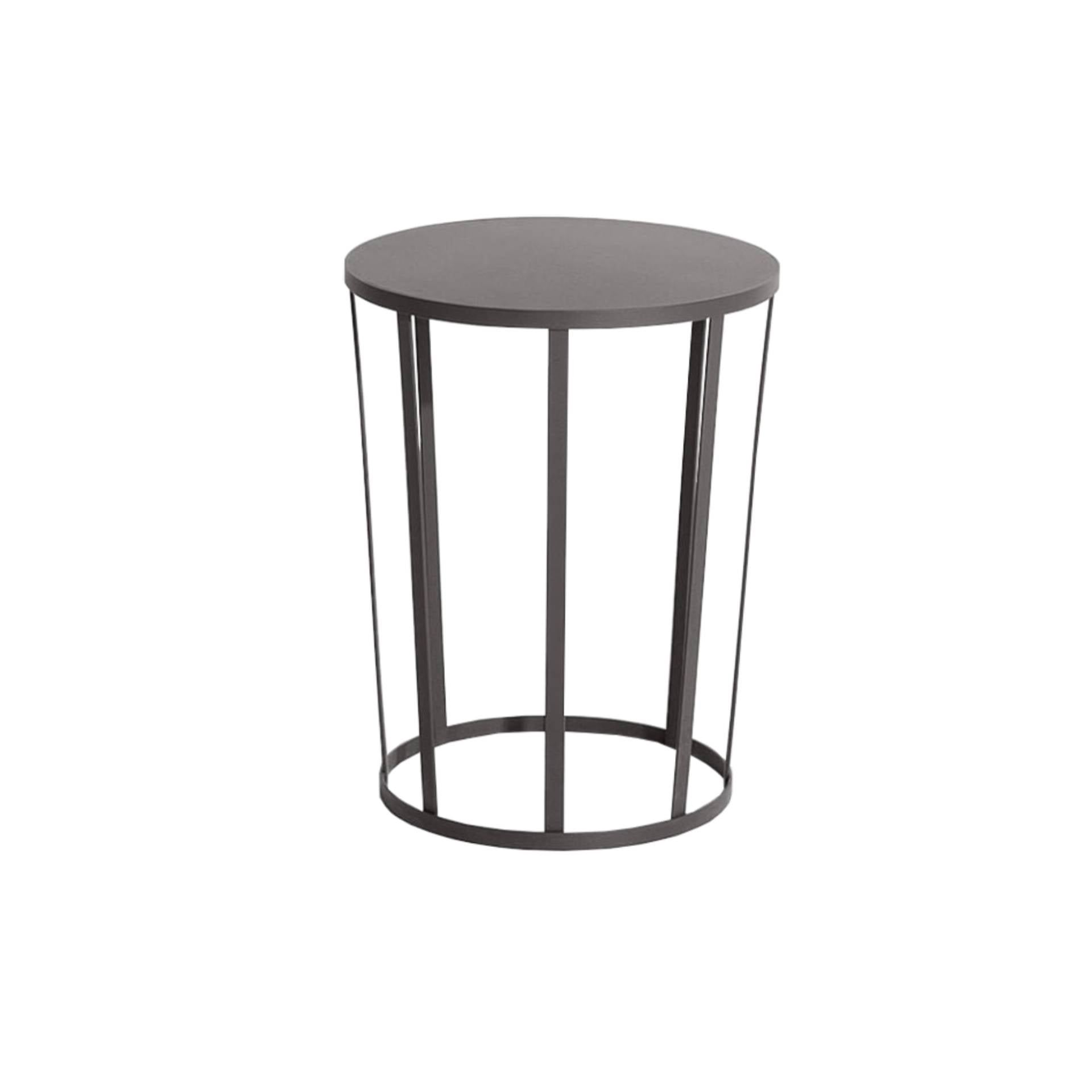 Hollo Side Table/Stool: Anthracite