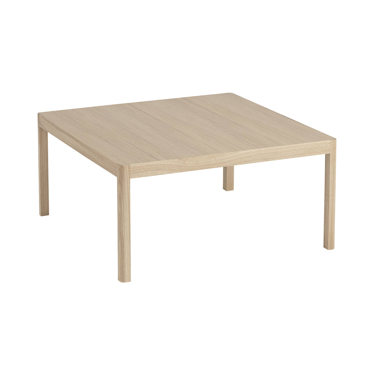 Workshop Coffee Table Square: Oak