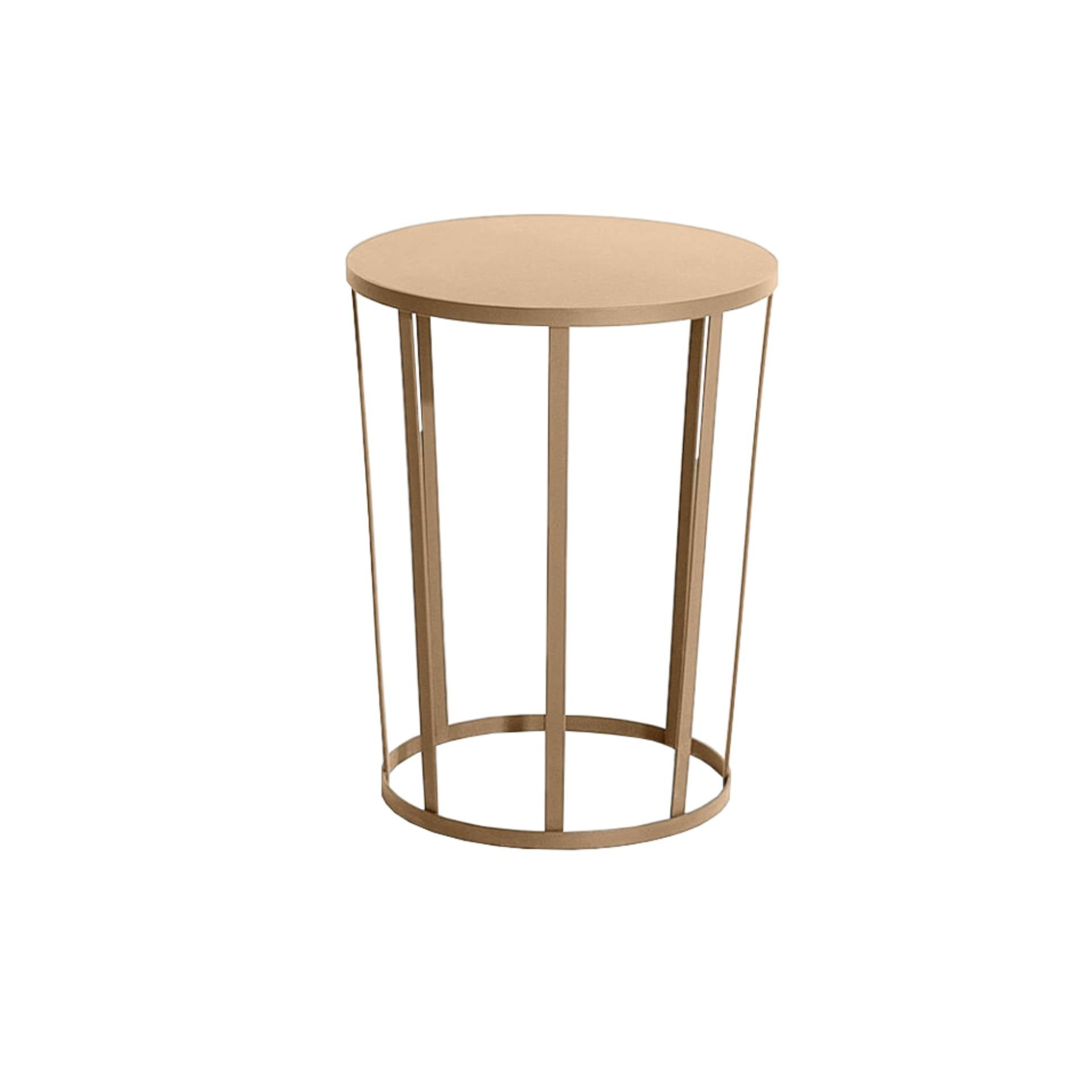 Hollo Side Table/Stool: Gold