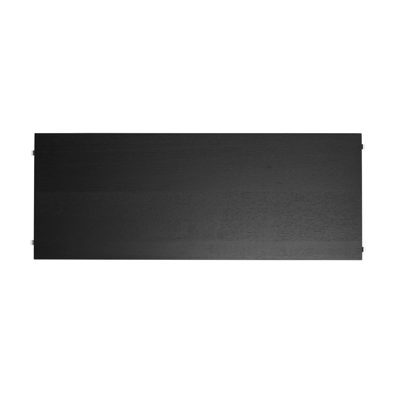 String Shelves (3-Pack): 78 x 30 cm + Black Stained Ash