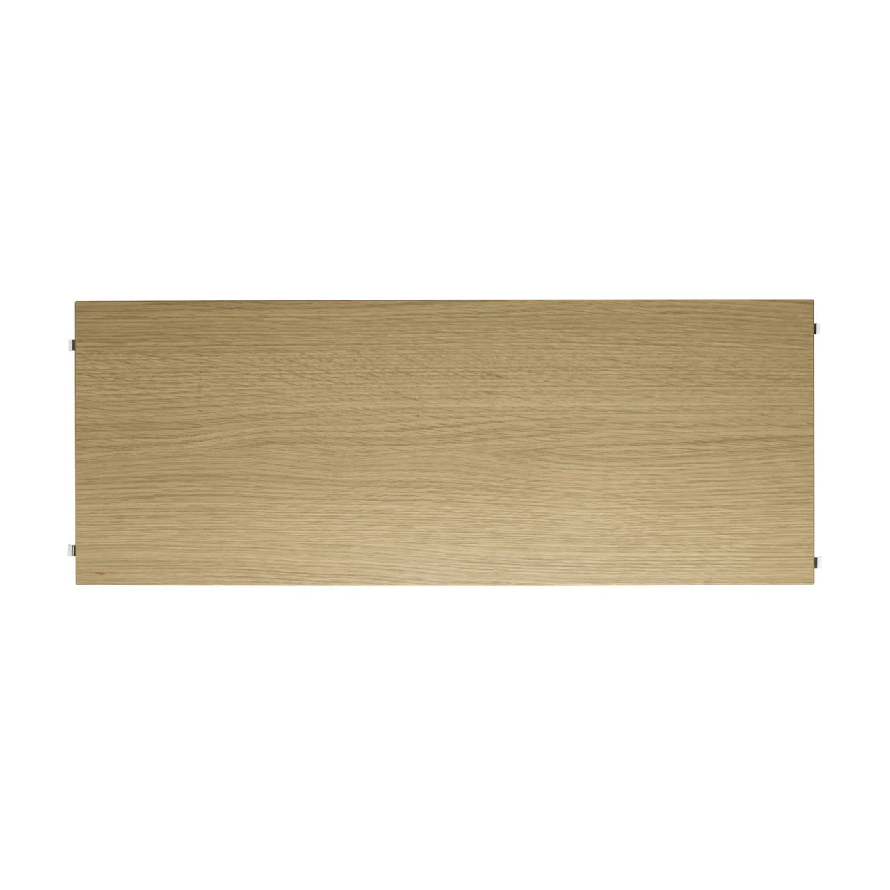 String Shelves (3-Pack): 78 x 30 cm + Oak