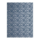 JER Wallpaper: Navy Blue + Silver