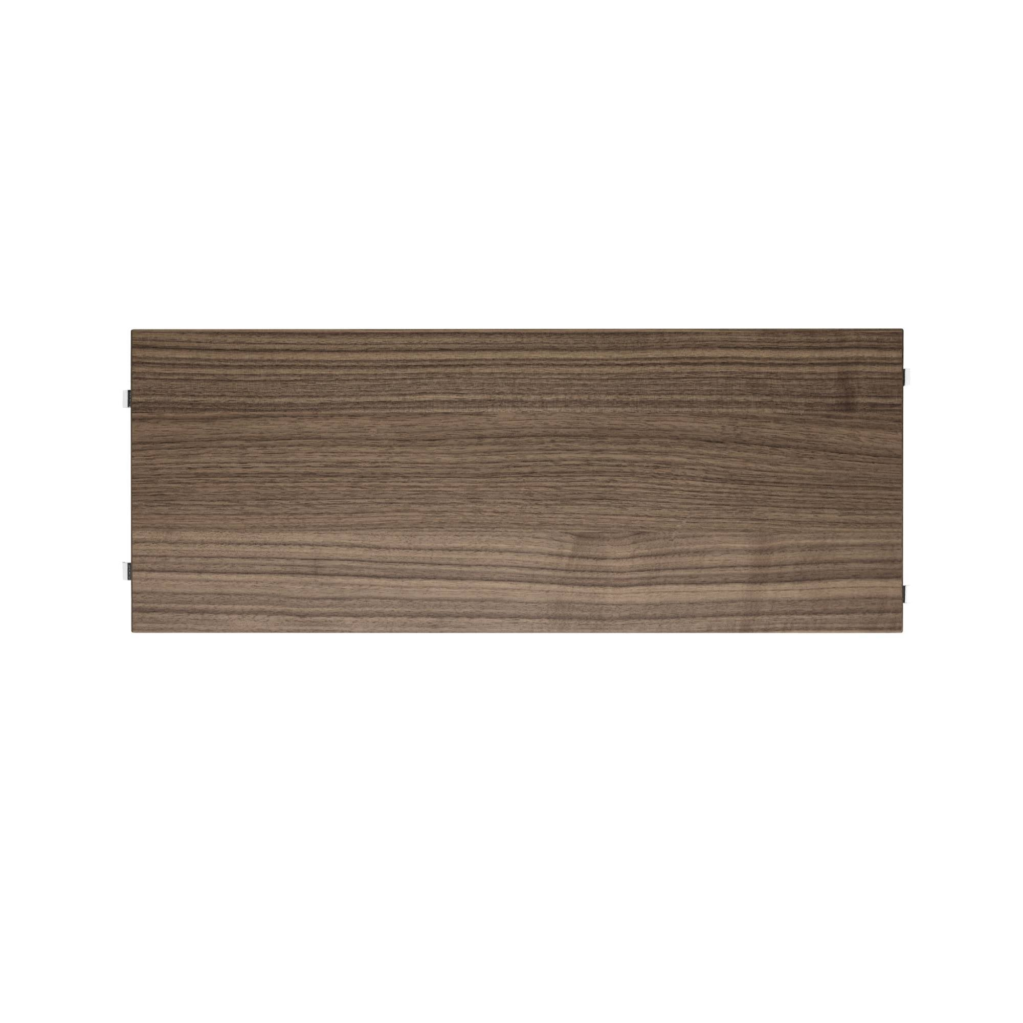 String System: Shelves (3-Pack) + 58 x 20 cm + Walnut