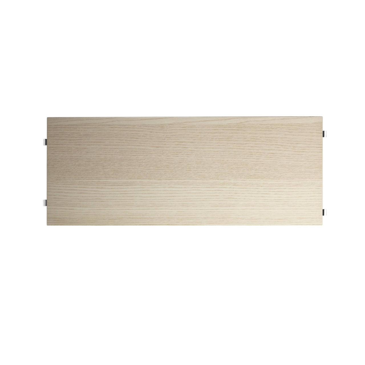 String System: Shelves (3-Pack) + 58 x 20 cm + Ash