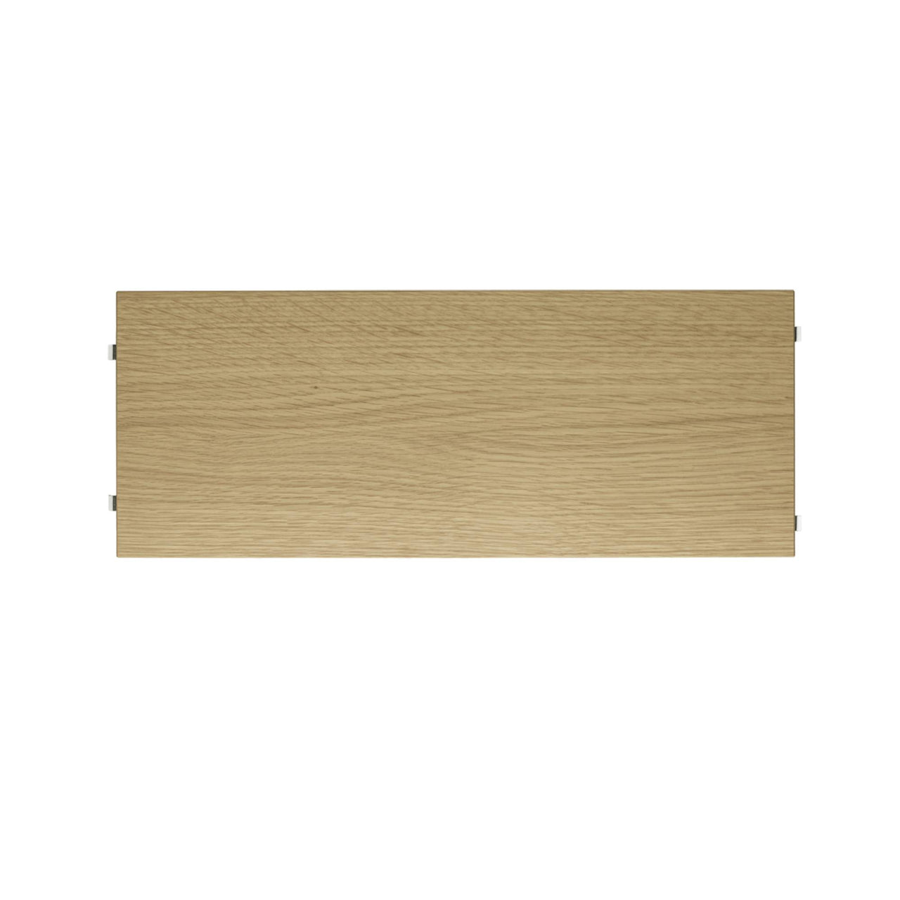 String System: Shelves (3-Pack) + 58 x 20 cm + Oak