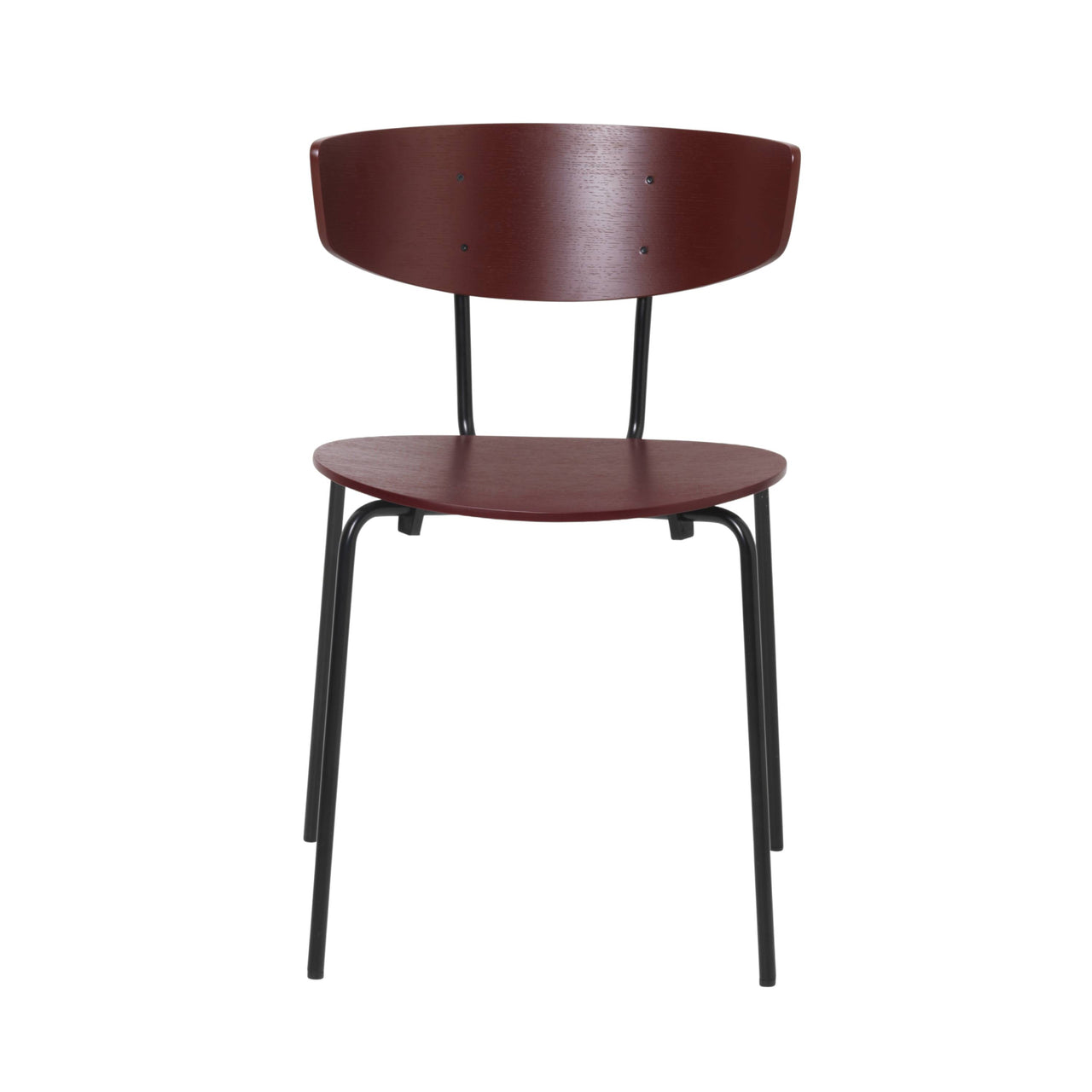 Herman Chair: Red Brown