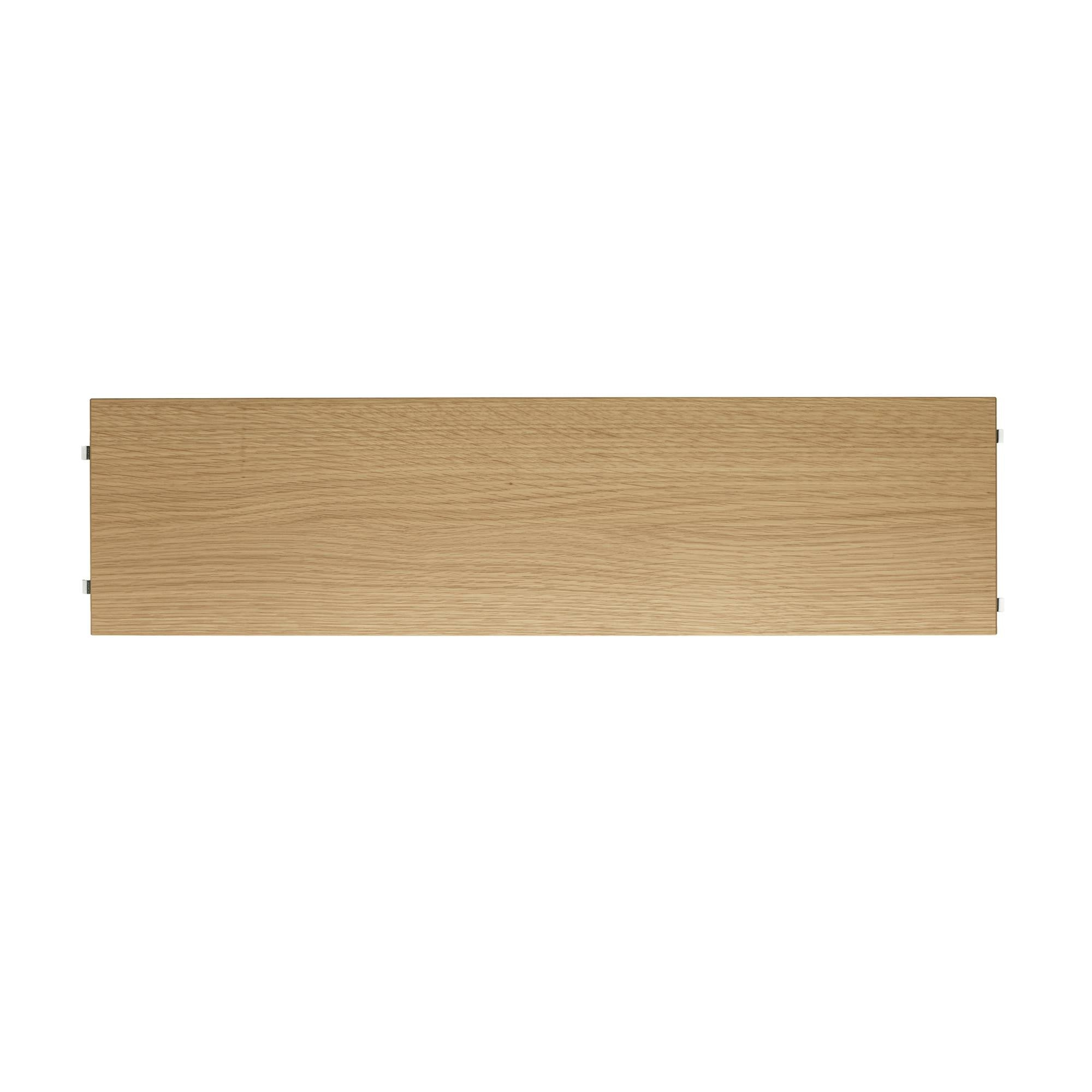 String System: Shelves (3-Pack) + 78 x 20 cm + Oak