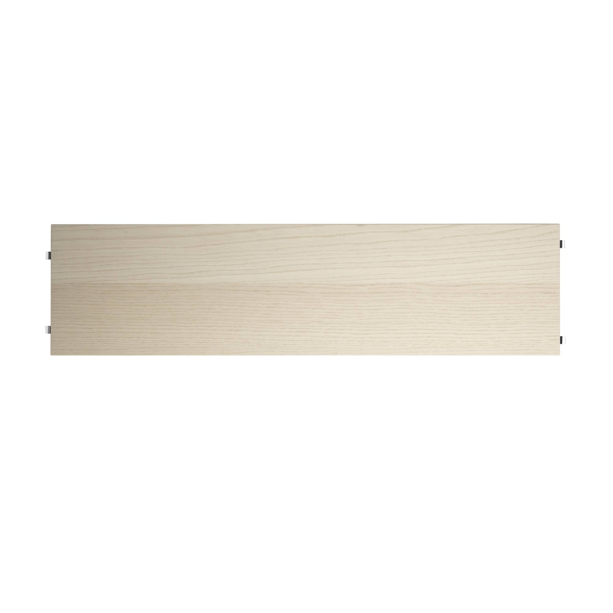 String System: Shelves (3-Pack) + 78 x 20 cm + Ash