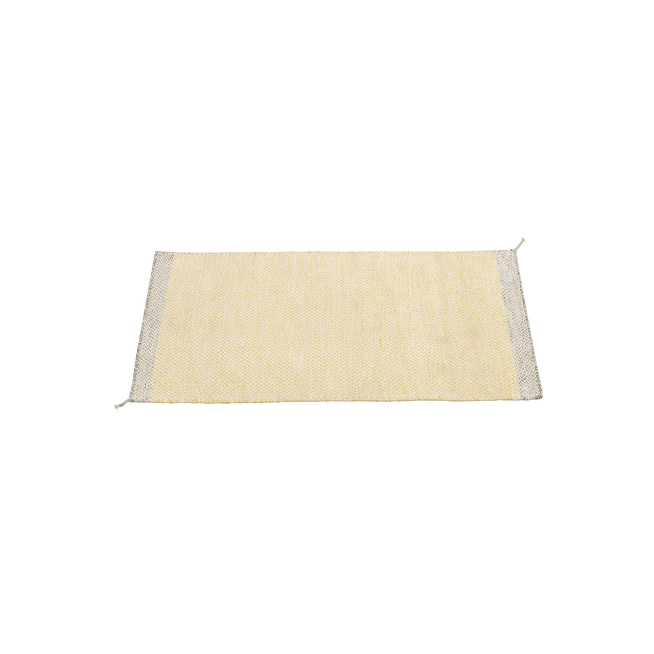 Ply Rug: Small + Yellow