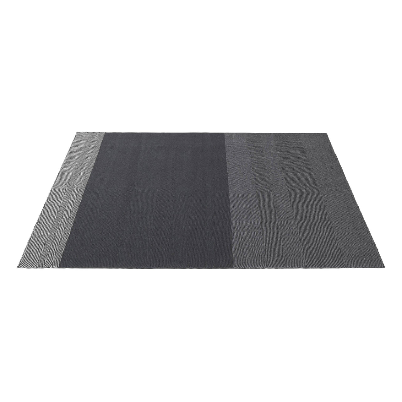 Varjo Rug: Large + Dark Grey