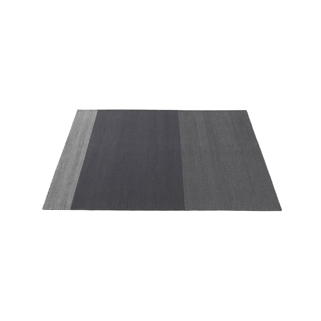 Varjo Rug: Small + Dark Grey