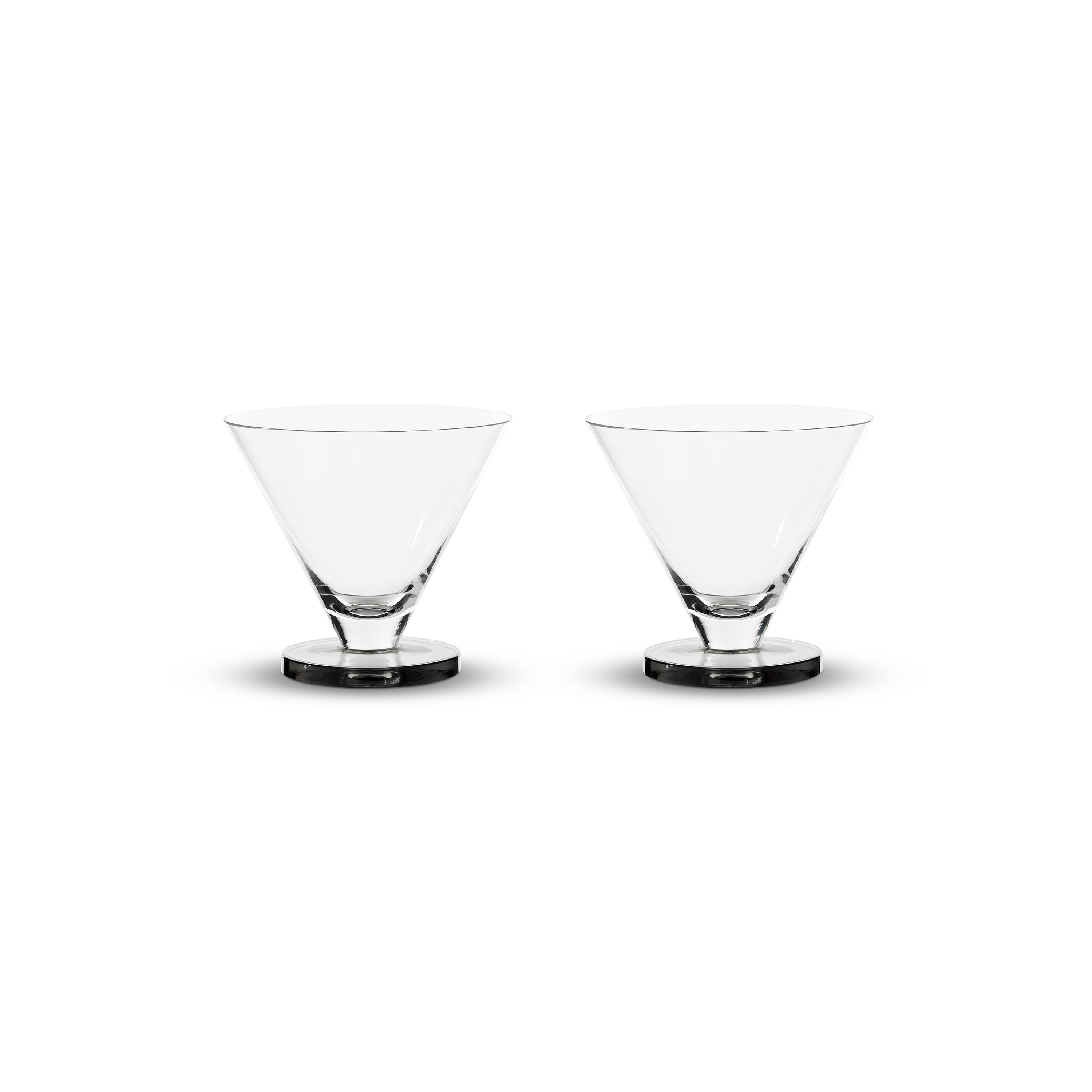 Puck Cocktail Glasses: Set of 2