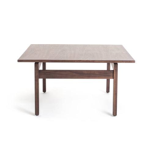 Risom Coffee Table: Walnut