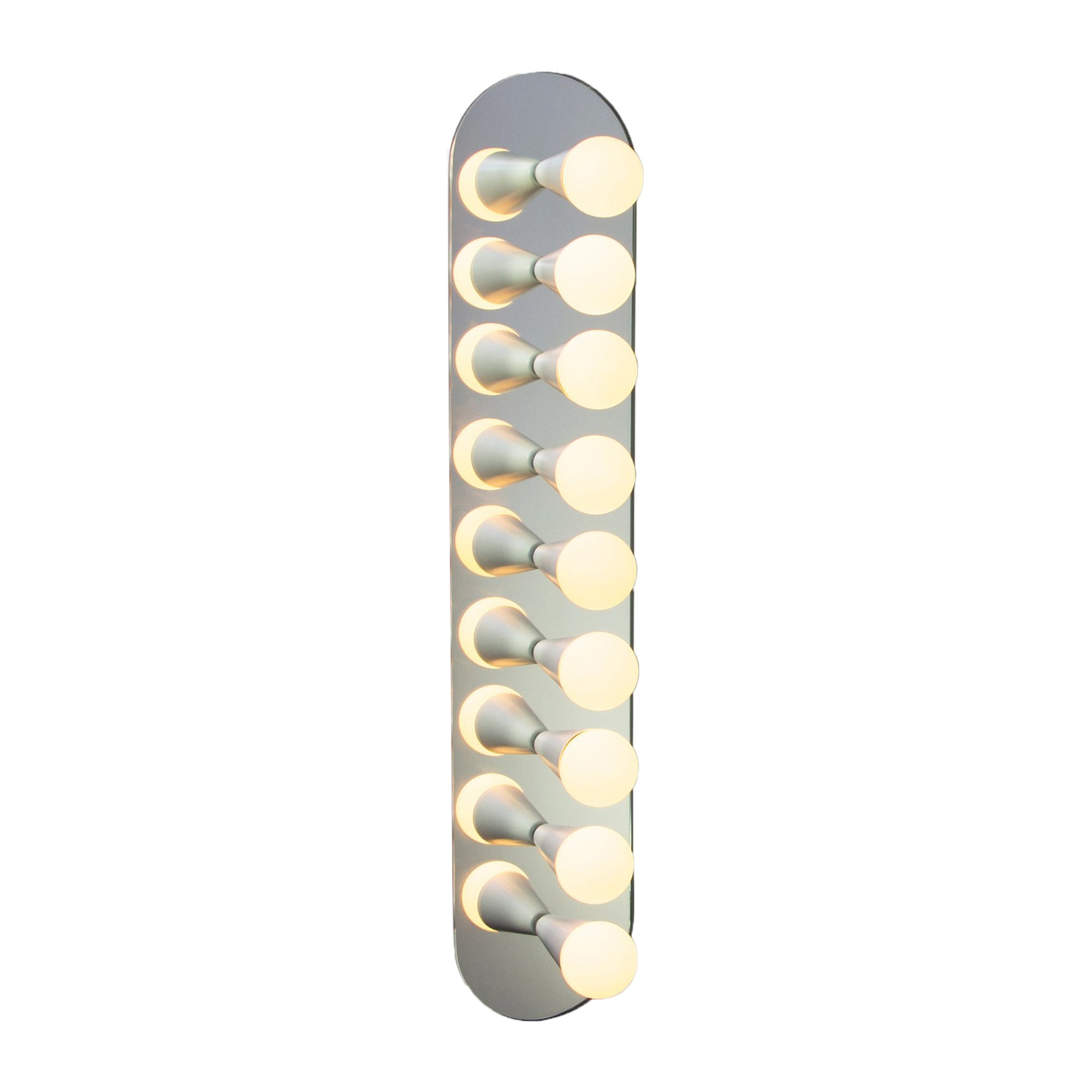Echo 9 Sconce: White
