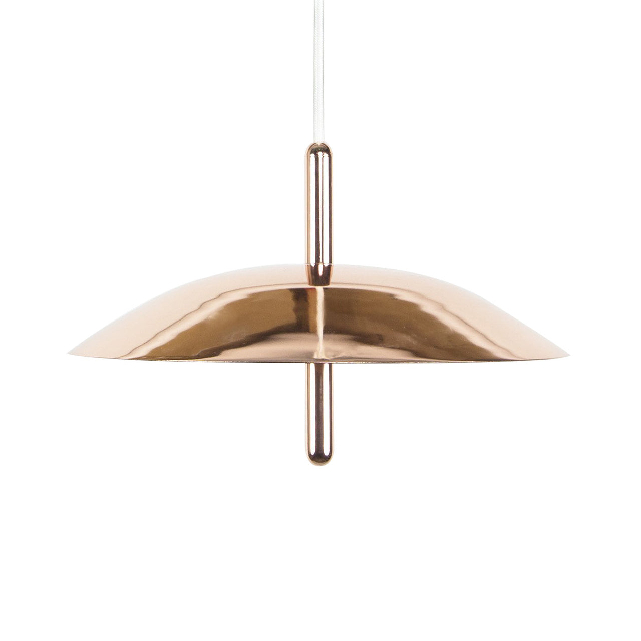 Signal Pendant Light: Copper + Copper Shade