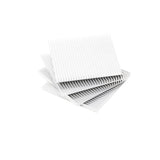 Fin Coasters Set of 4: Silver