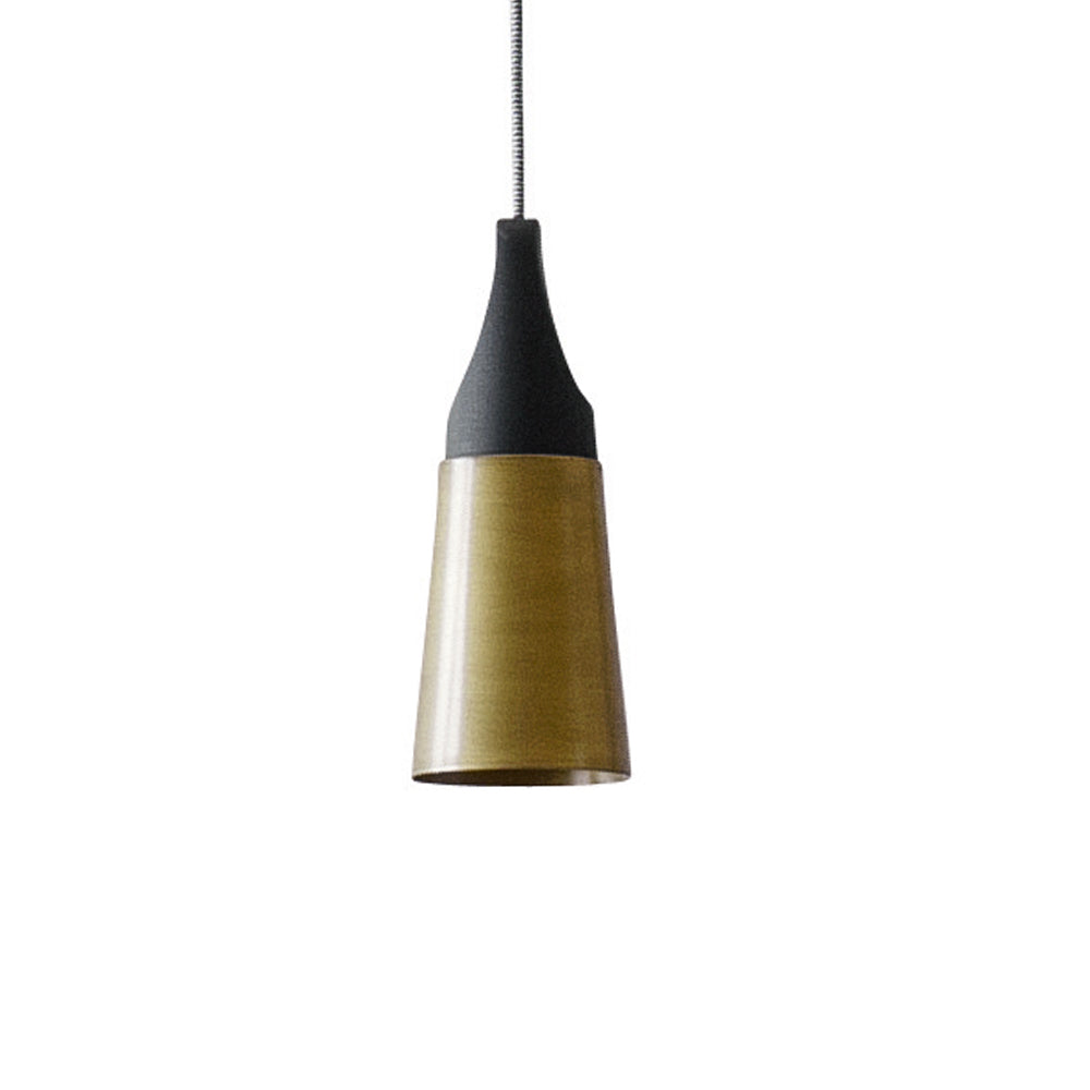 Slope Suspension Light LS 31: Metallic or Ceramic