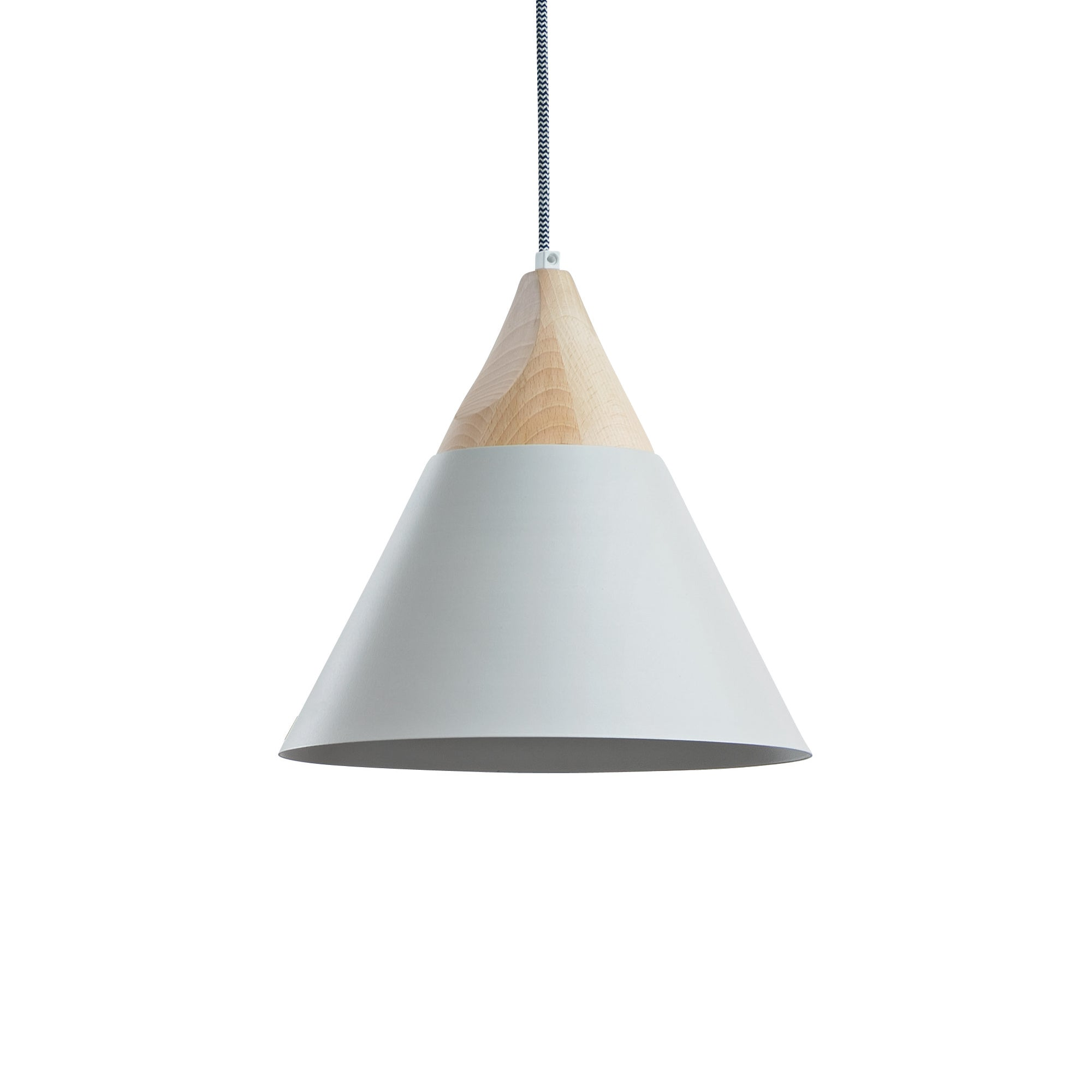 Slope Suspension Light LS 32: Metallic or Ceramic