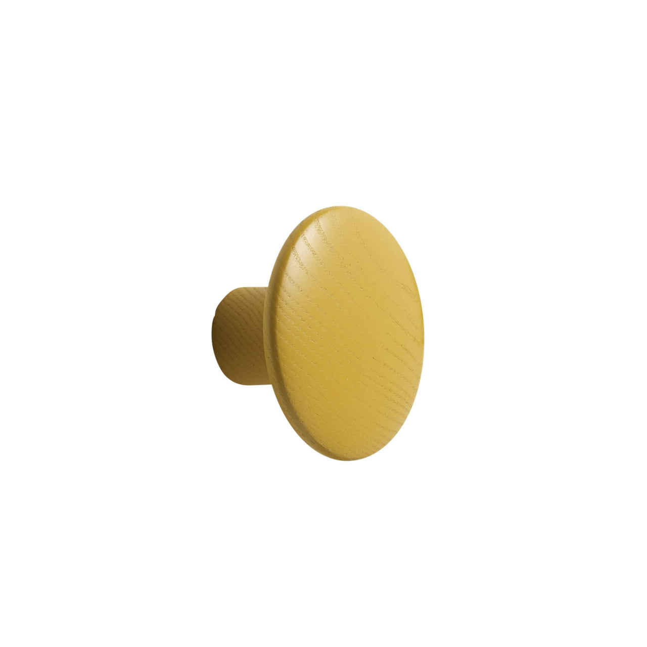 The Dots Wall Hooks: Mustard + Small