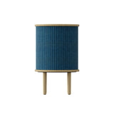 Audacious Side Table: Petrol Blue
