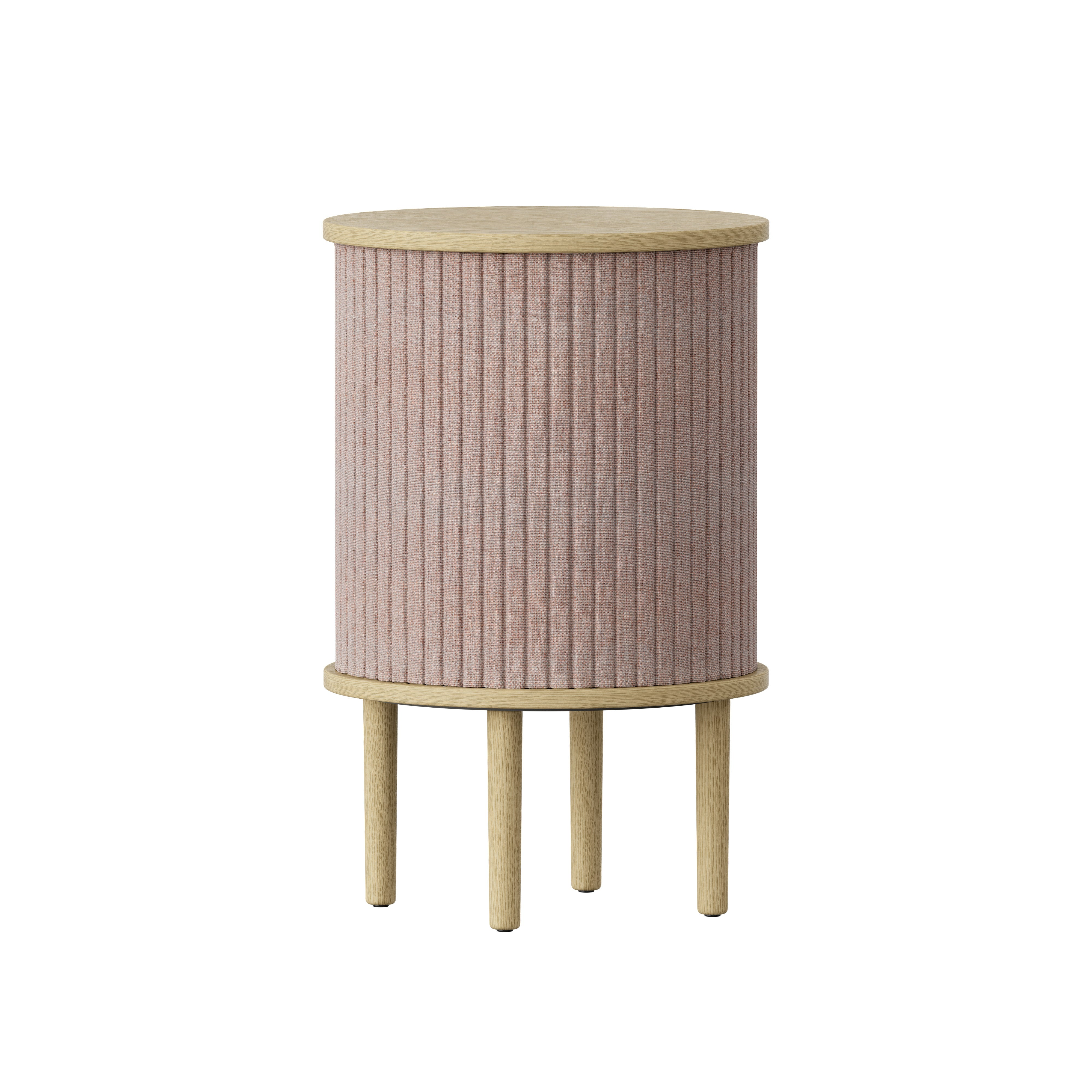Audacious Side Table: Dusty Rose