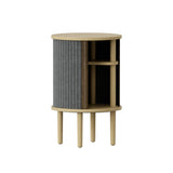 Audacious Side Table: Slate Grey