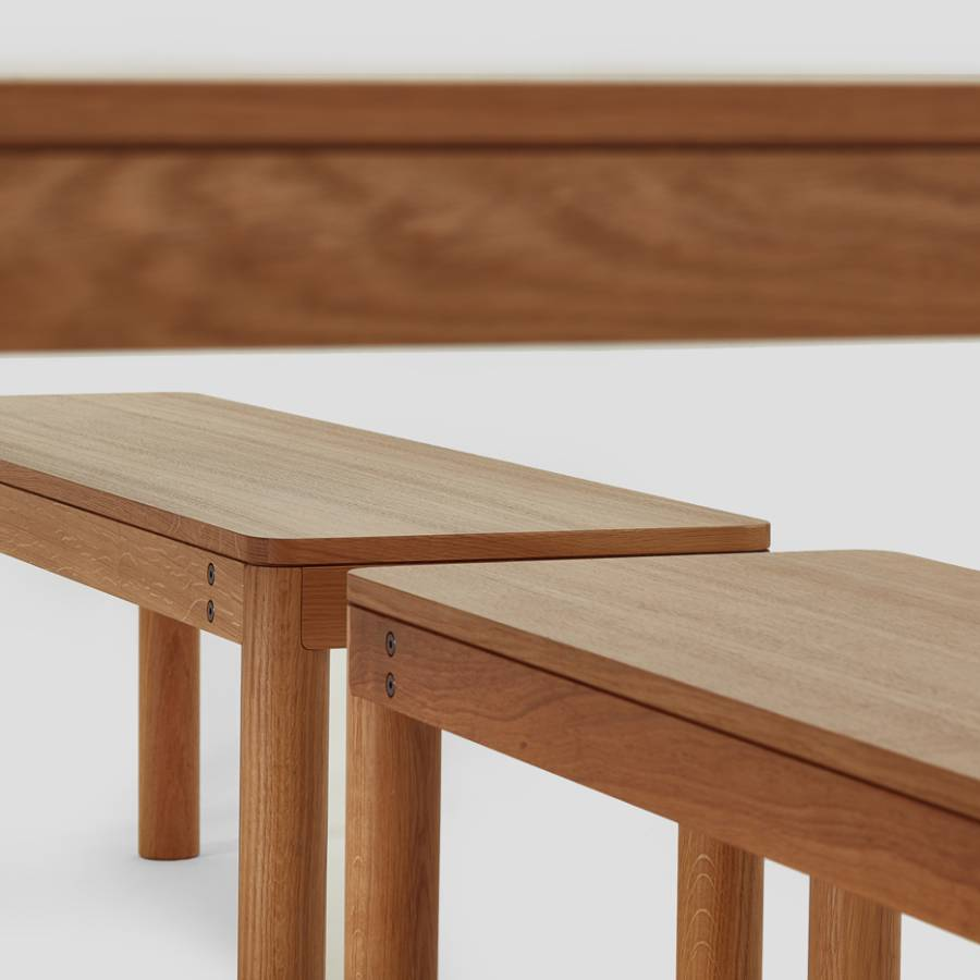 Wooden Dowel Bench