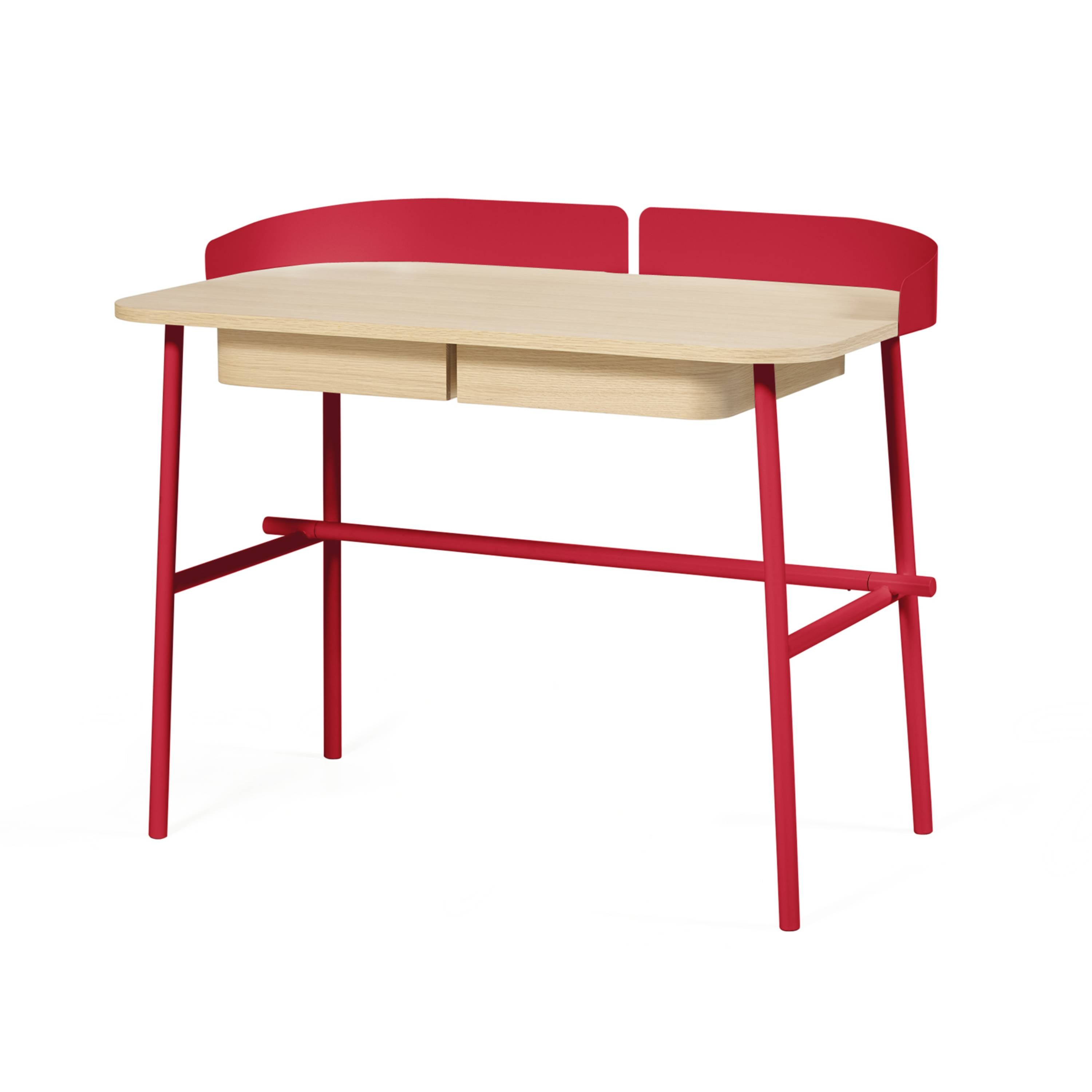 Victor Desk: Cherry Red