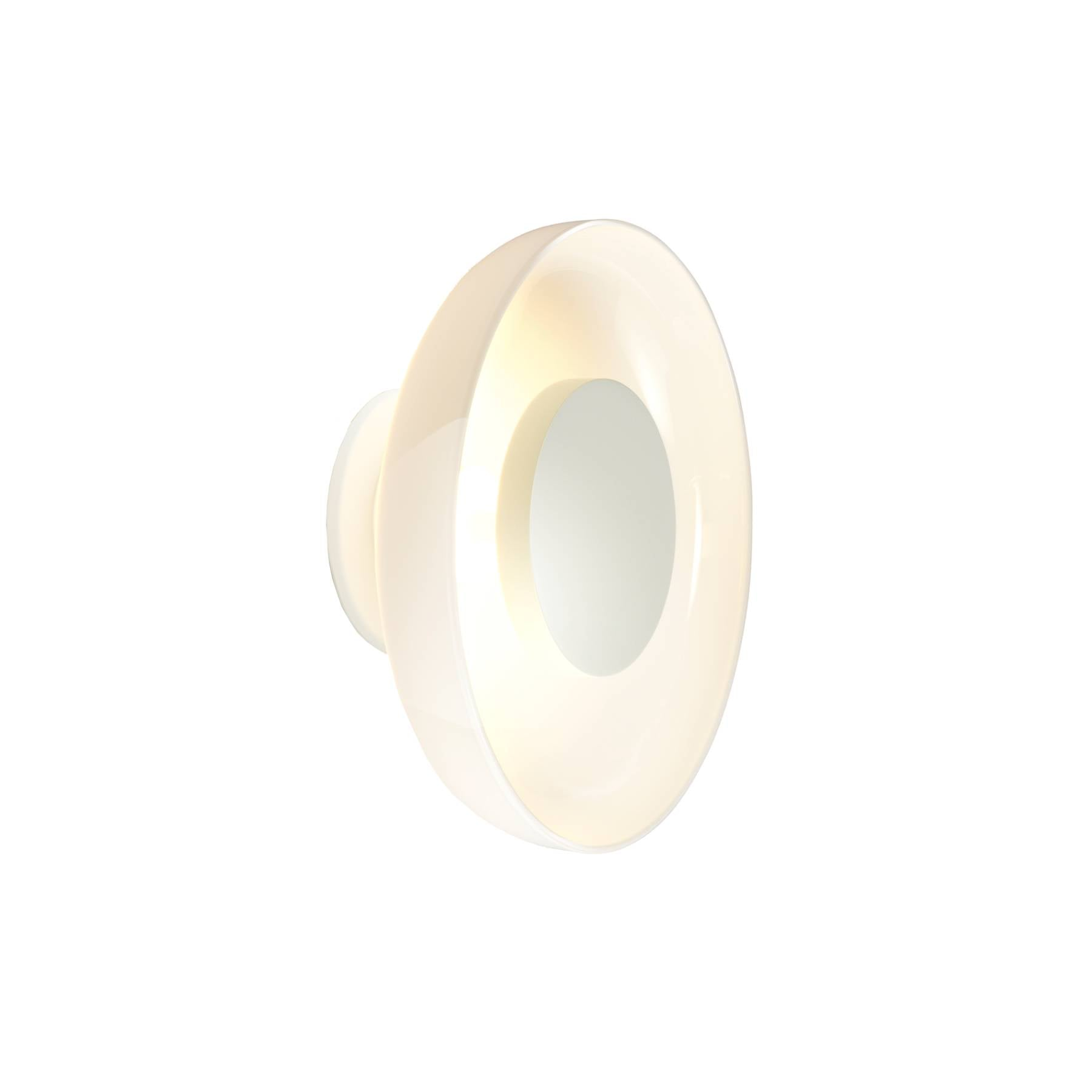 Aura Plus Wall Light: Opal