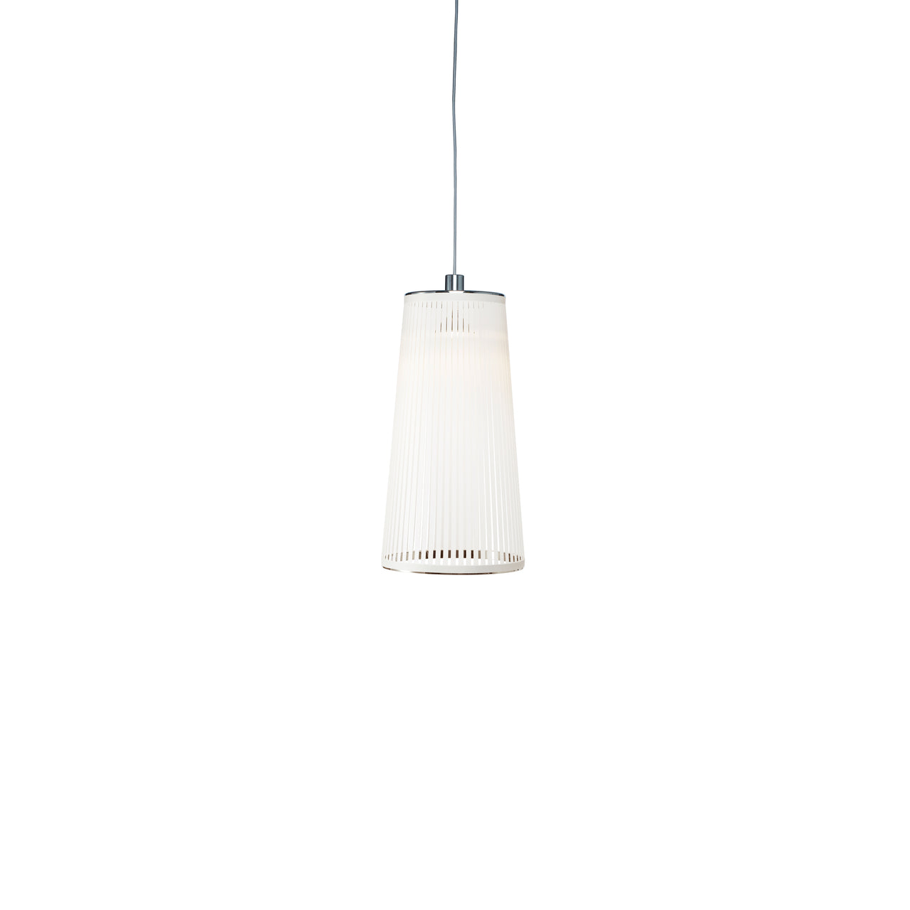Solis Pendant Light: Small + White