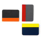 Mini Lumio+ Book Lamp: Orange/Black + Red/Grey + Yellow/Navy