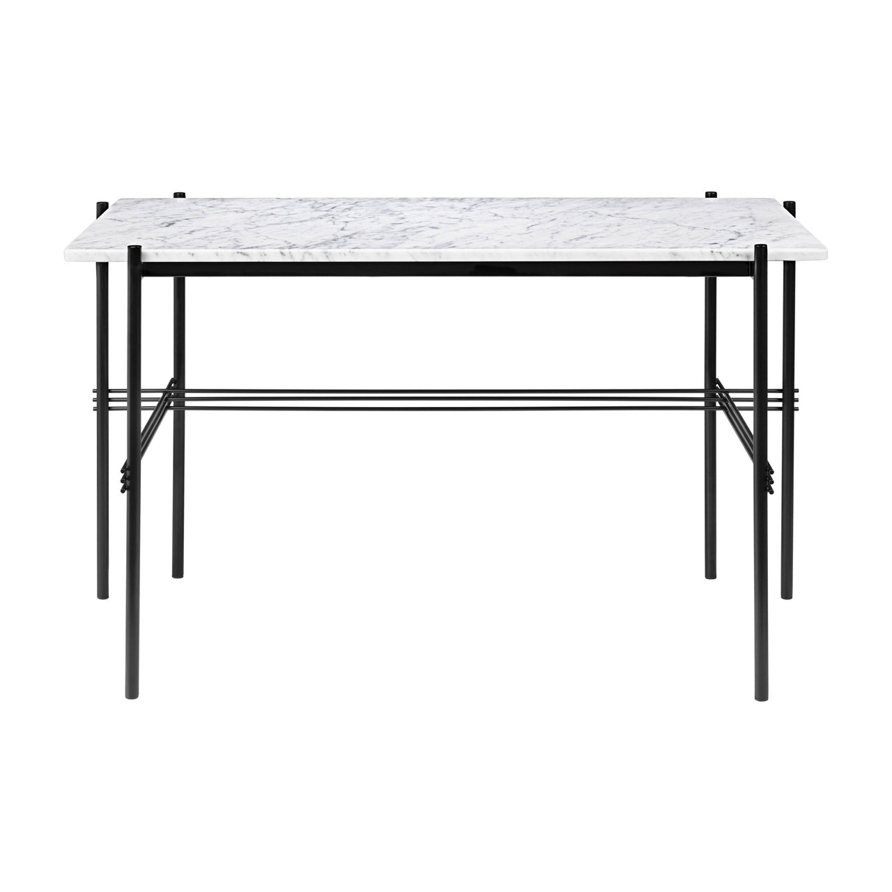 TS Desk: White Carrara Marble