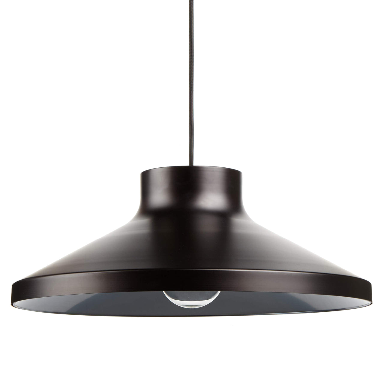 VGP1 Pendant Light: Matte Black + Grey