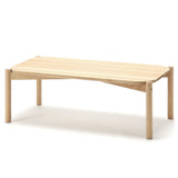 Castor Low Table: Side + Coffee: Large